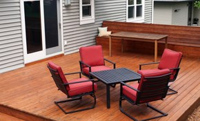 $5,599 for a New 16' x 12' Wood Deck