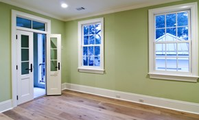 $400 for Two Rooms of Interior Painting