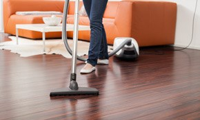 $199 for Wood Floor Cleaning & Polishing