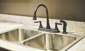 $249 for Chrome Kitchen Faucet Installation