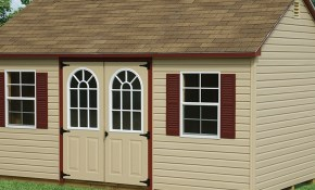 $3,835 for a 10' X 16' Vinyl Gable Shed