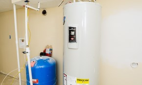 $1050 for a 50-Gallon Gas Water Heater Installed