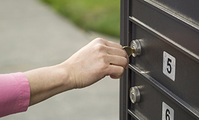 $70 for Installation of New Mailbox Lock