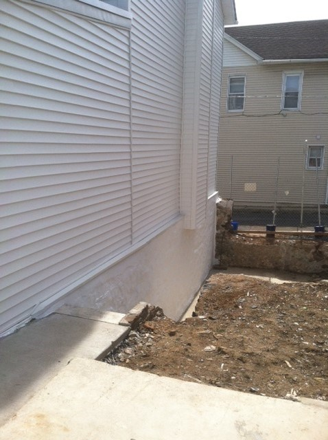 Completed Siding