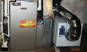 $74.99 Furnace Clean and Service with Free...