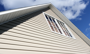 $1,500 for 100 Feet of Vinyl Soffit Overhangs