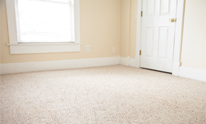 $59 Steam Cleaning for 3 Rooms Plus a Hallway