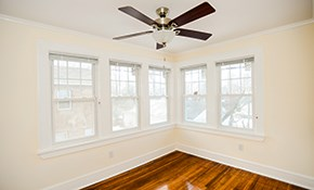 $1,550 Installation of Five Energy Star Windows