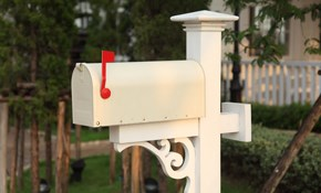 $135 for Removal and Replacement of Mailbox
