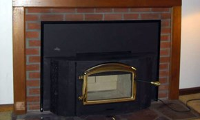 $4,390 for Napolean Fireplace Wood Stove...