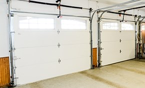 $141 for a Garage Door Tune-Up Package