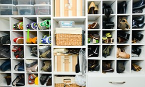 $360 for 4 Hours of Professional Home Organization