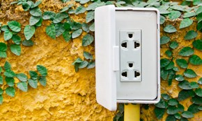 $285 for an Outdoor Electrical Box Installed