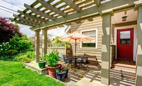 $200 for $500 Toward Pergola Installation