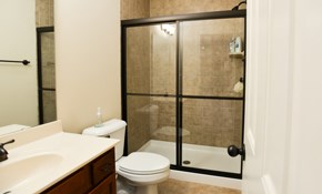 $50 for $100 Credit Toward Shower Glass Enclosure