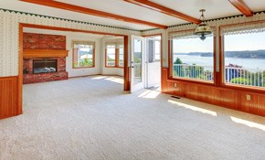 $192 for 6 Rooms of Carpet Cleaning and a...