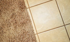$125 for Tile and Floor Cleaning