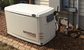 $8900 Installation of 22kW Home Generator