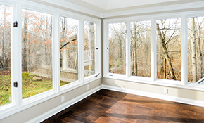 $2449 for Installation of 5 R5-Rated Triple-Pane...