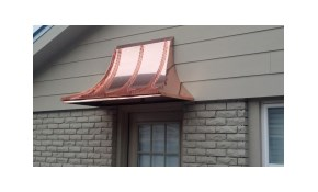 $799 Copper Sweep Awning with Enclosed Sweep...