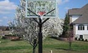 $1,890 All Pro Basketball Hoop