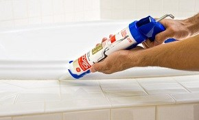 $99 Kitchen or Bathroom Caulking and Grout...