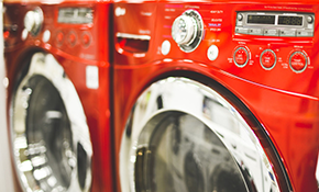 $25 for $50 Credit Toward Washer and Dryer...