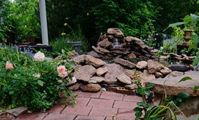 $169.99 for Both Front and Back Yard Patio/Walkway...