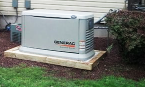 $5,850 Installation of a Home Generator