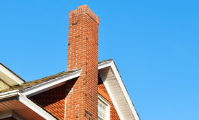 $189 for Fireplace Insert Chimney Sweep and...