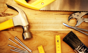 $550 for 4 Hours of Home Repair or Remodeling