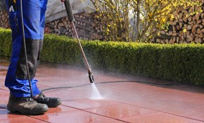 $185 for Deck and Patio Furniture Pressure-Washing