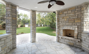 $5,000 20' x 20' Stamped Concrete Patio or...