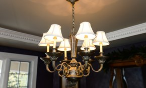 $138 for 2 Light Fixtures Installed