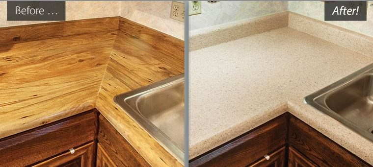 Ugly Laminate Countertops? We Can Help