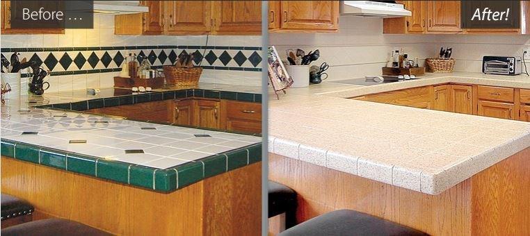 Dated Ceramic Tile & Backsplash