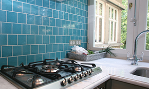 $699 for a New Ceramic Tile Backsplash, Including...