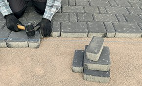 $1,680 for Paver Stone Patio or Walkway Delivered...