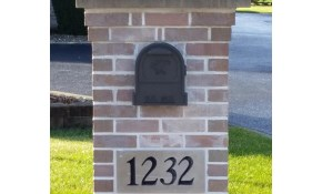 $1100 for Brick Mailbox Pillar