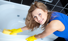 $99 for Deep Cleaning of Kitchen and 2 Bathrooms