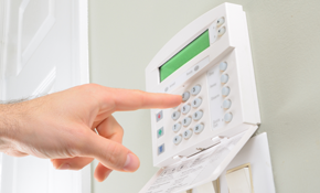 $450 for a Gold Package Alarm System