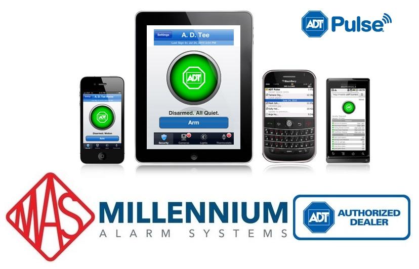 Millennium Alarm Systems Adt Authorized Dealer