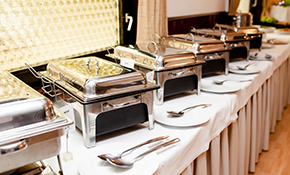 $350 for $400 Credit Toward Catering Services