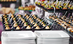 $4,000 for Catering an 80 Party Wedding