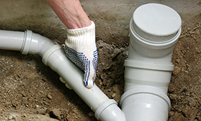 $95 for Main Sewer Line Cleaning from Clean-Out