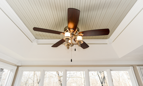 $250 for 3 Ceiling Fan Installations
