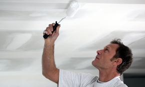 $653 for Whole House Ceiling Painting