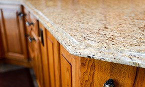 $2,572 for 50 Square Feet of Custom Granite...