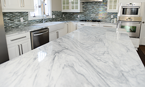 $1,979 for 40 Square Feet of Custom Quartz...