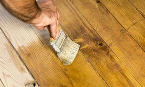 $375 for Deck Cleaning and Staining for up...